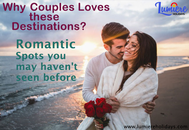 Romantic Places in India for Honeymoon